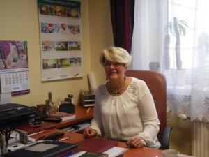 Dyrektor Szkoły Podstawowej nr 12 w Kaliszu - p. Małgorzata Gałczyńska