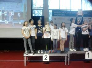 II miejsce drużynowe dziewcząt