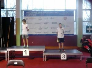 III miejsce wśród chłopców - Seweryn Świderski
