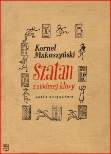 Okładka powieści Kornela Makuszyńskiego