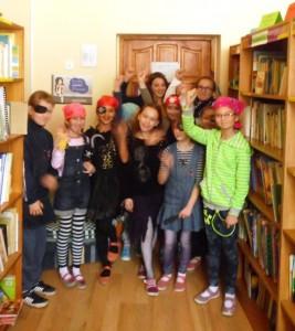 Piraci w szkolnej bibliotece