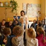Spotkanie z uczniami klasy pierwszej D