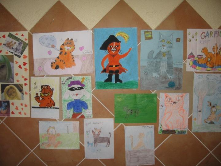 wystawa prac naszych uczniów