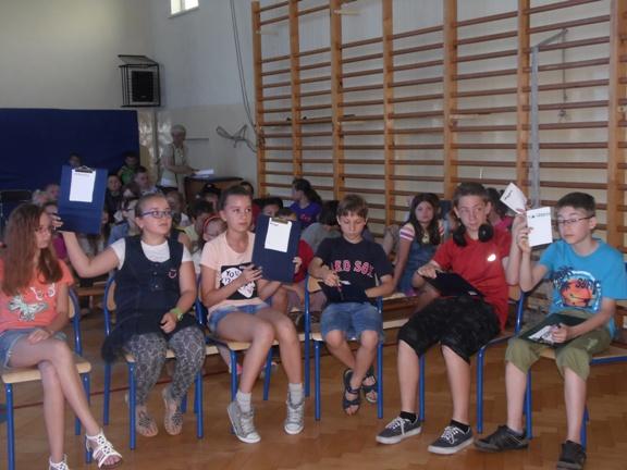 uczestnicy quizu muzycznego